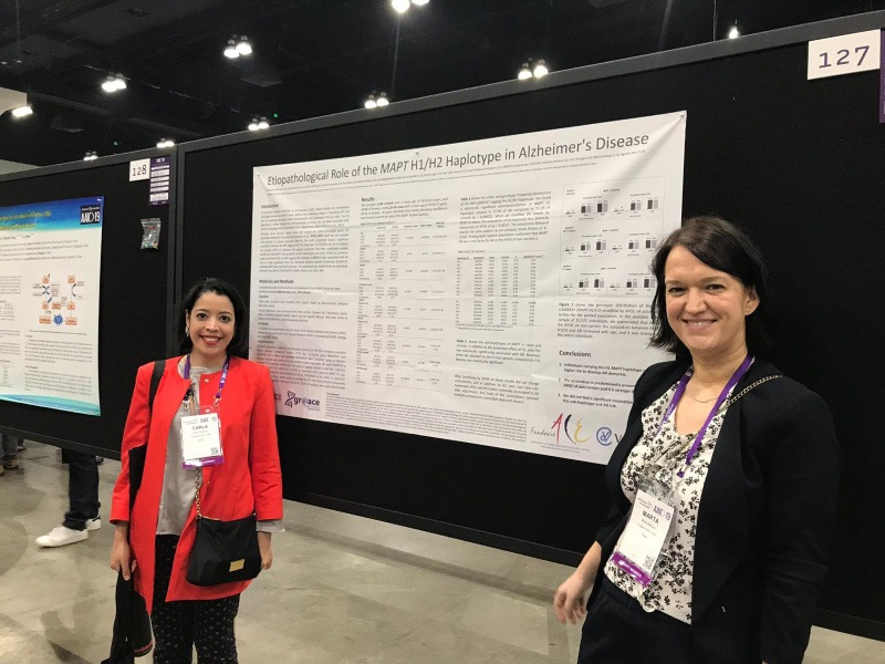 Fundación ACE presented 2 pósters at the AAIC 2019
