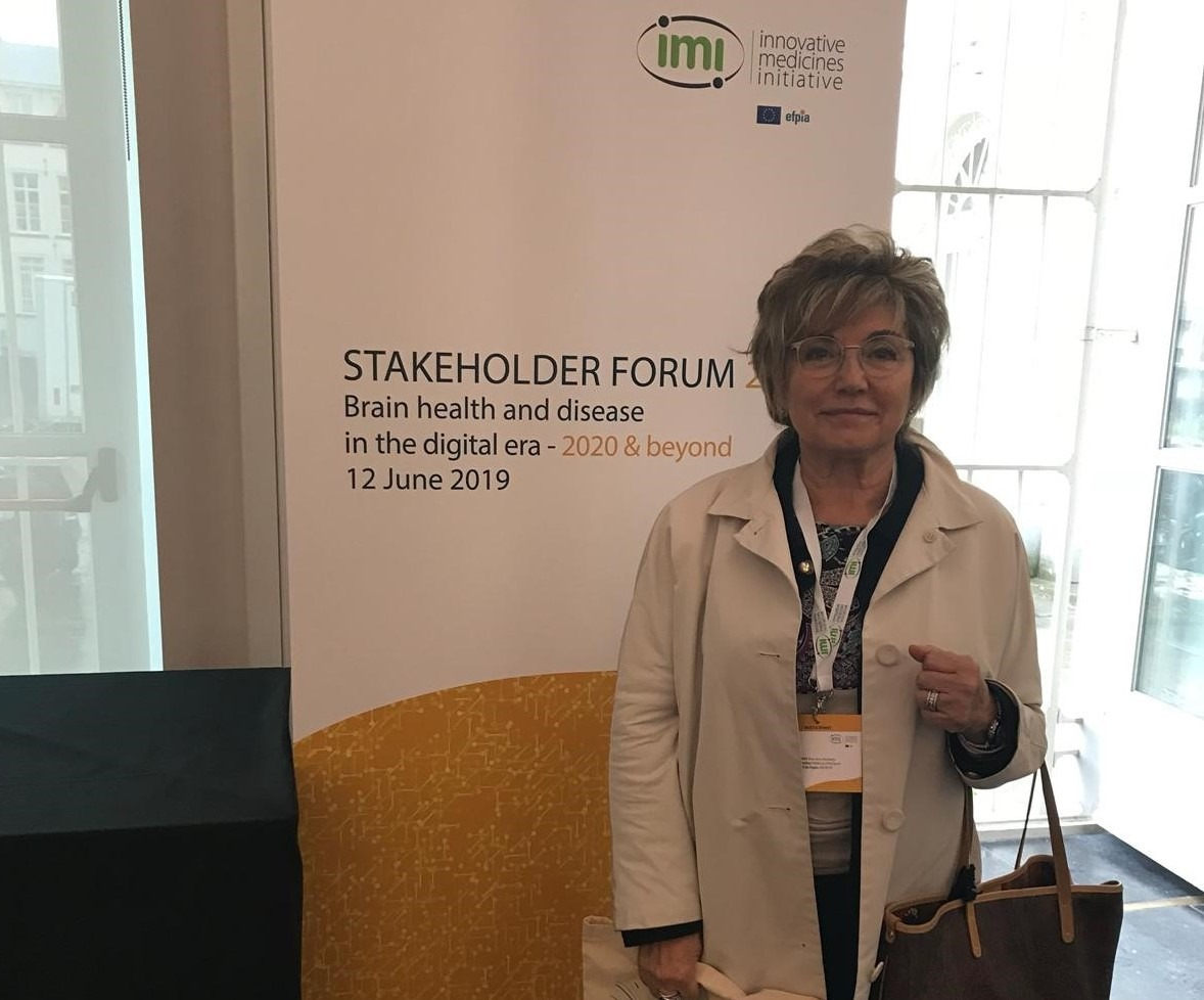 Doctor Boada at the IMI Stakeholder Forum 2019